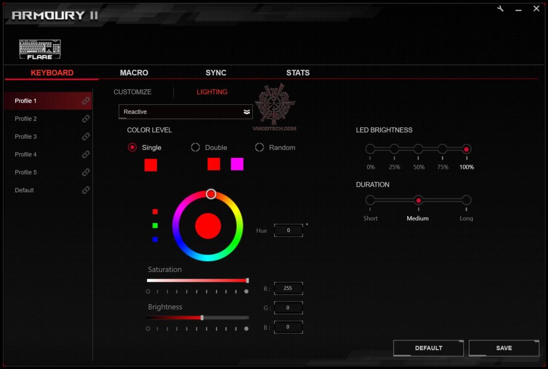 ASUS ROG STRIX FLARE Mechanical Gaming Keyboard