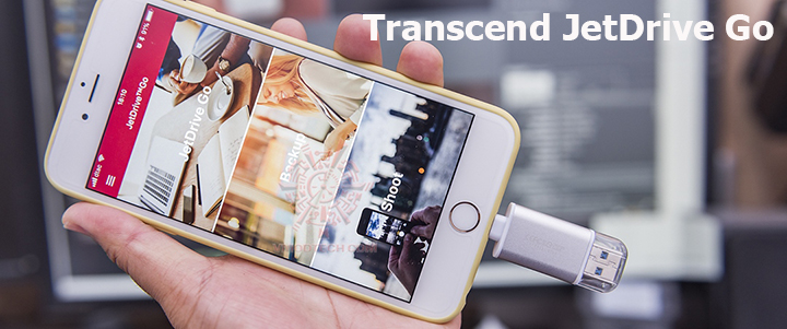 main Transcend JetDrive Go 300S 32GB Lightning and USB 3.1 Flash Drive Review