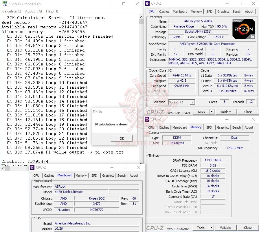 s32 oc ASRock X470 Taichi Ultimate Review