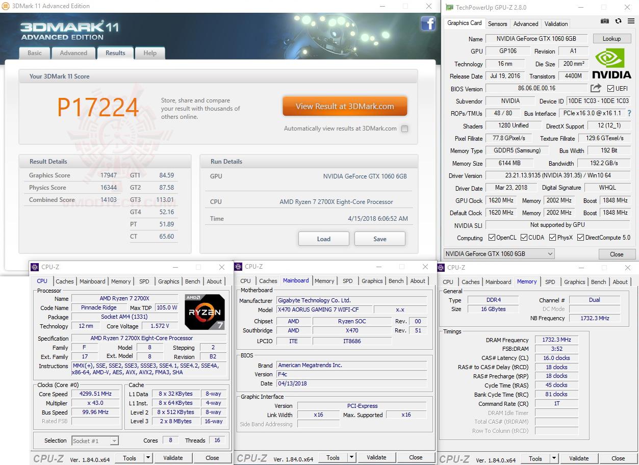 11 oc AMD RYZEN 7 2700X PROCESSOR REVIEW