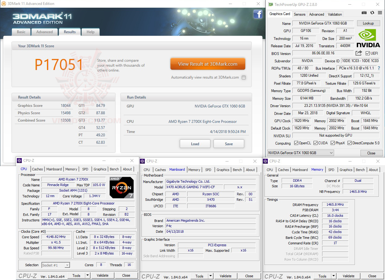 11 AMD RYZEN 7 2700X PROCESSOR REVIEW