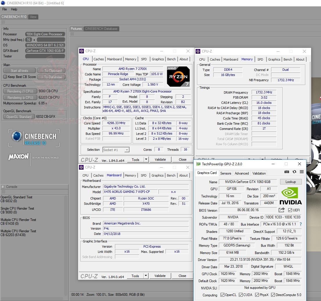 c10 oc AMD RYZEN 7 2700X PROCESSOR REVIEW