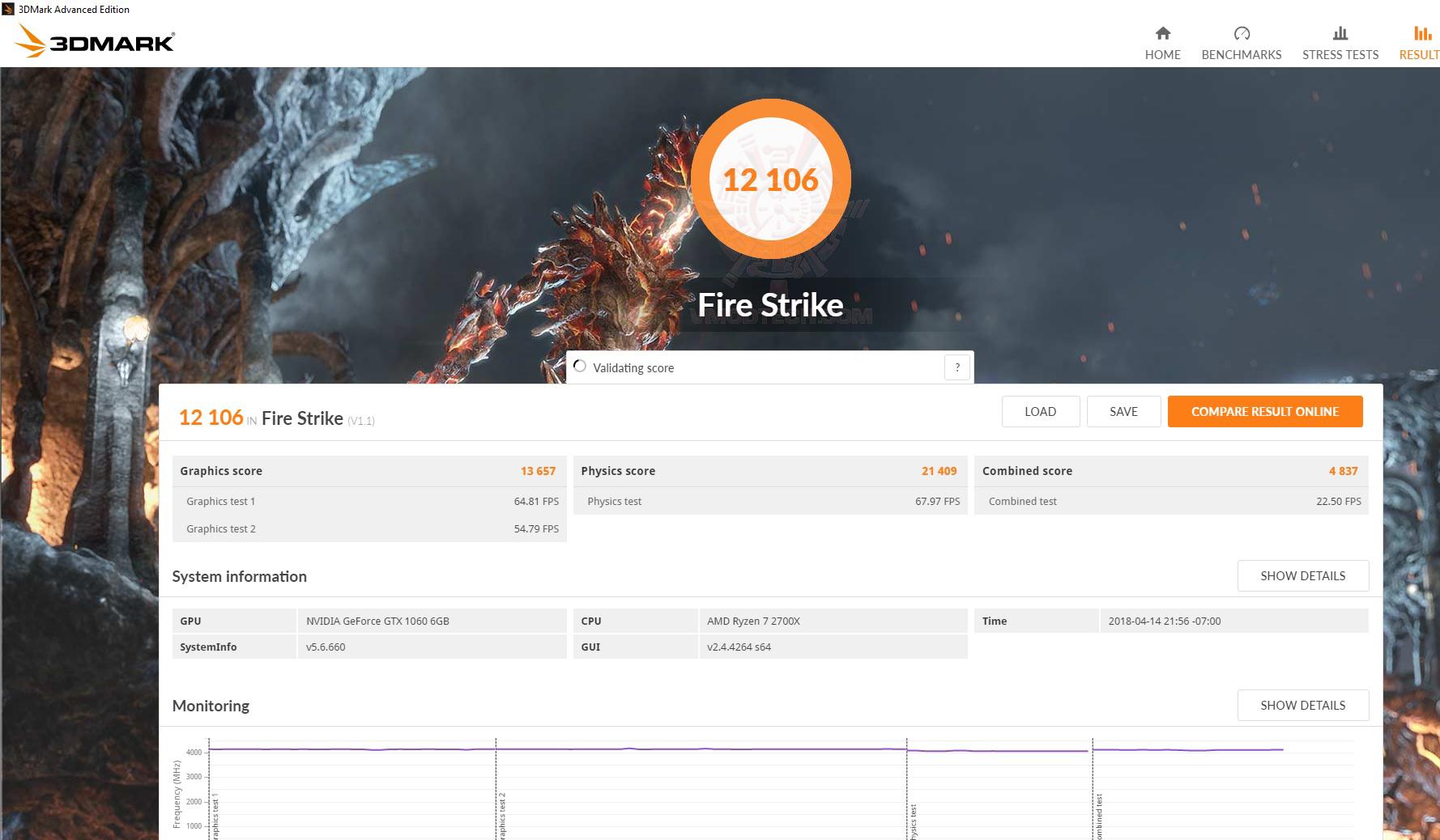 fire AMD RYZEN 7 2700X PROCESSOR REVIEW