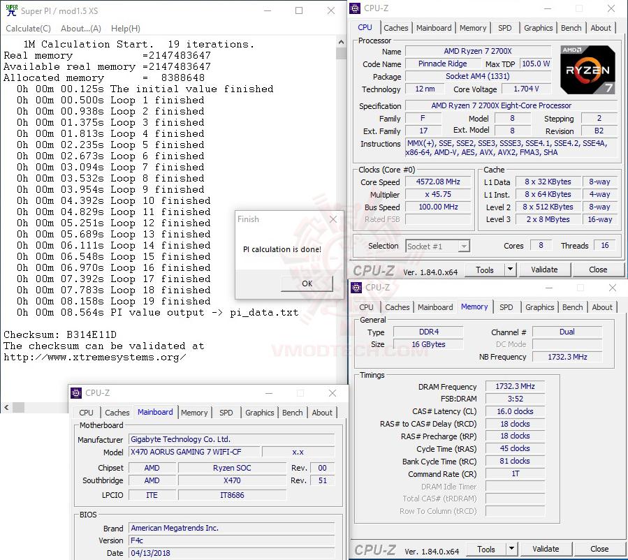 s1 457ghz oc AMD RYZEN 7 2700X PROCESSOR REVIEW