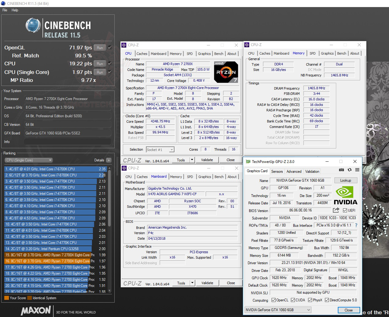 c11 AMD RYZEN 7 2700X PROCESSOR REVIEW