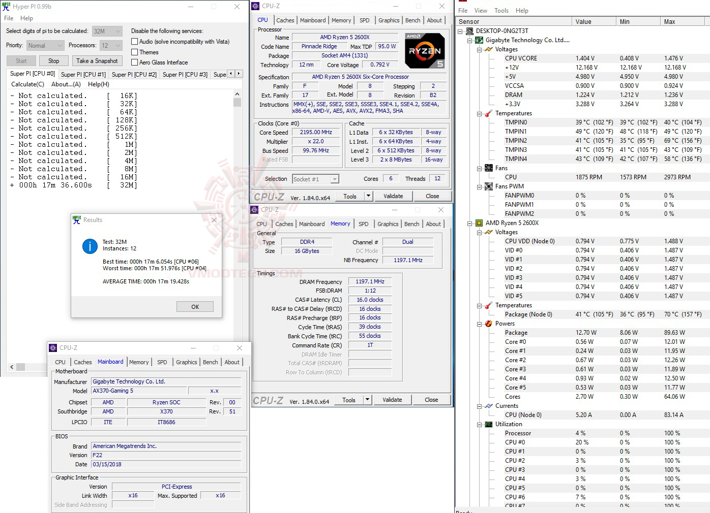 h32 AMD RYZEN 7 2700X PROCESSOR REVIEW