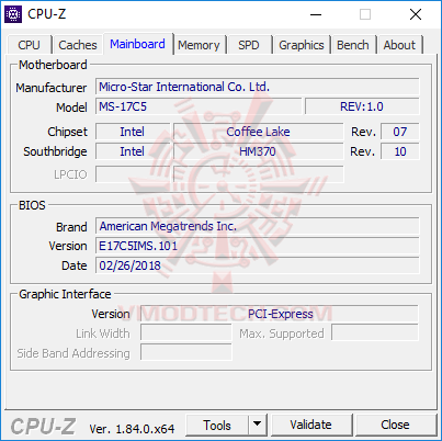 cpu3 MSI GE73 Raider RGB 8RF with 8th Generation of Intel CPU Review