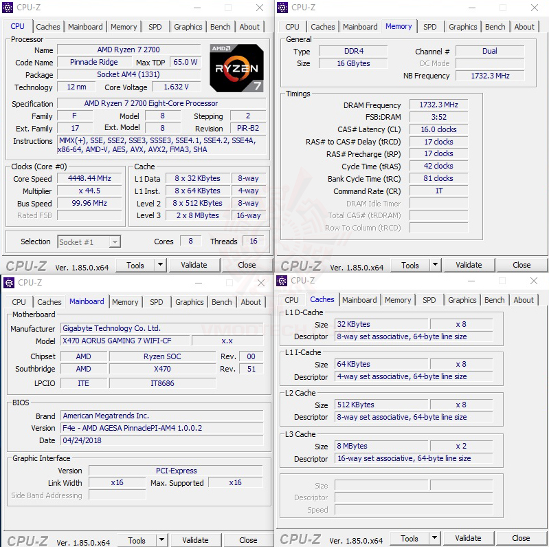 cpuid maxx AMD RYZEN 7 2700 and StoreMI Technology Review