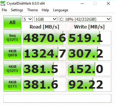 cry1gb ssd mi AMD RYZEN 7 2700 and StoreMI Technology Review