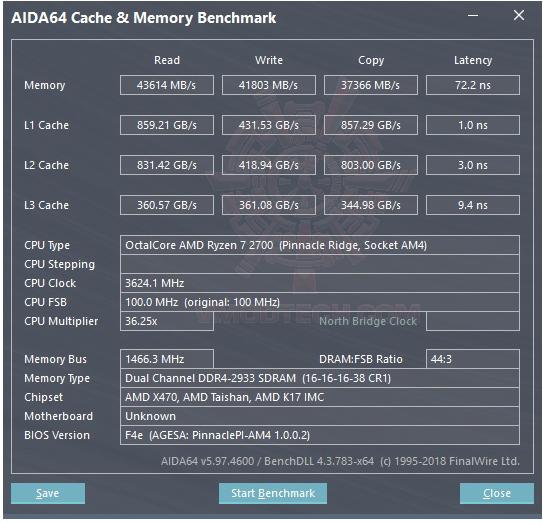 mem AMD RYZEN 7 2700 and StoreMI Technology Review