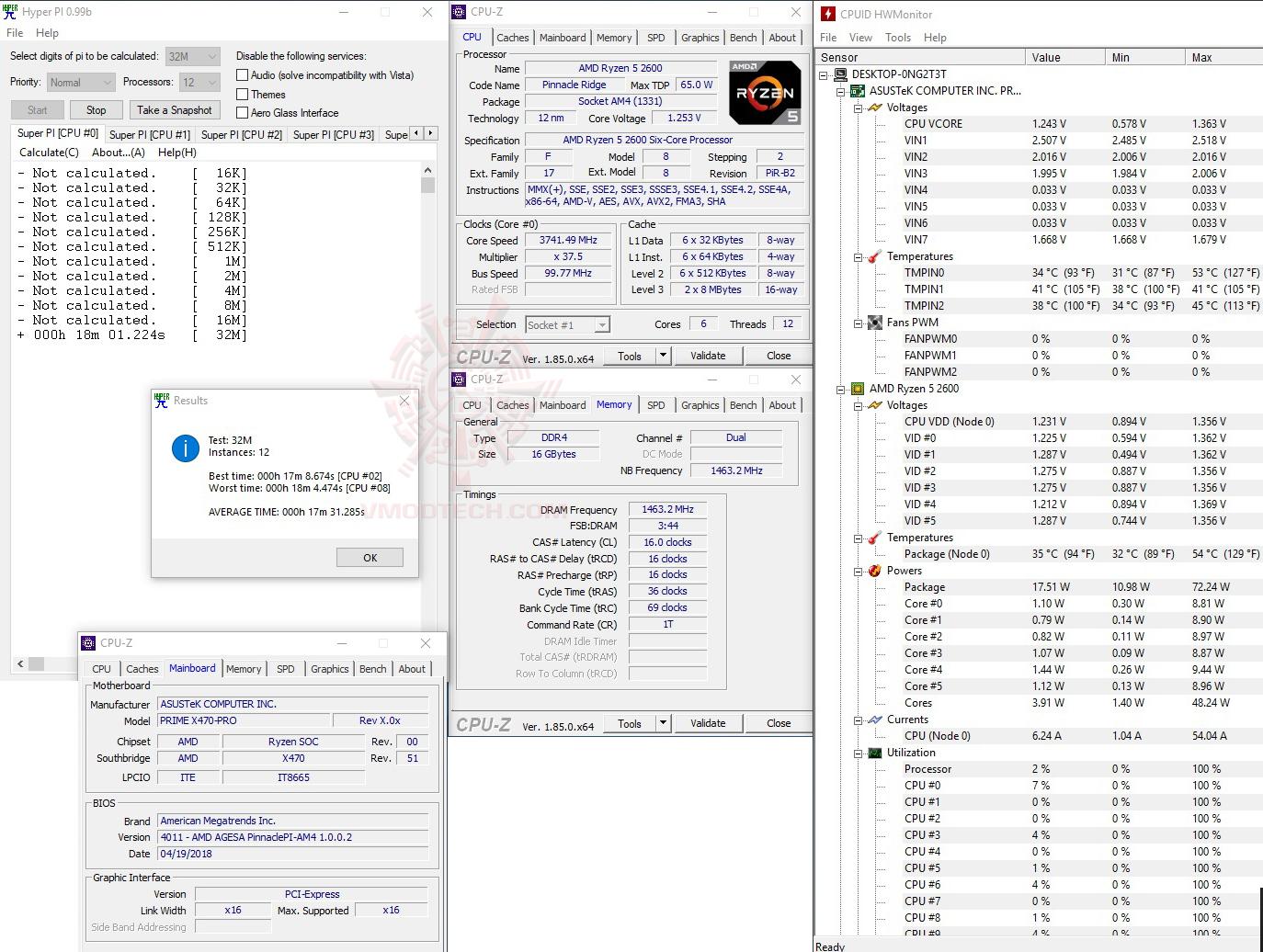 หน้าที่ 1 - amd-ryzen-5-2600-processor-review   Vmodtech com