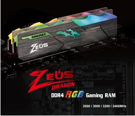 1 KINGMAX เปิดตัวแรมสำหรับเล่นเกมส์รุ่น Zeus Dragon DDR4 RGB