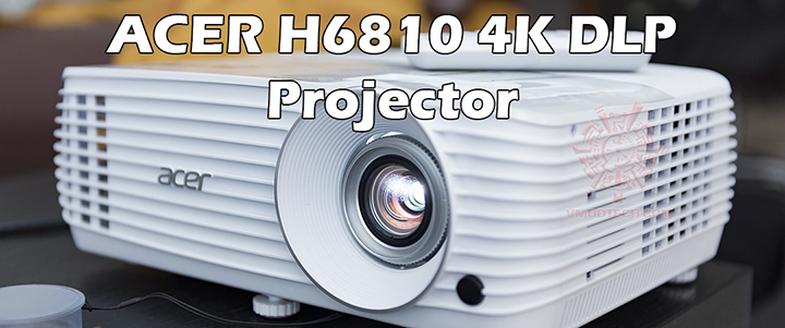 main1 ACER H6810 4K DLP Projector Review