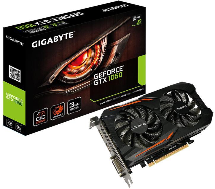 มาจริง!! เผยโฉม Nvidia GTX 1050 รุ่น 3GB จากแบรนด์ GIGABYTE GeForce GTX 1050 OC 3G