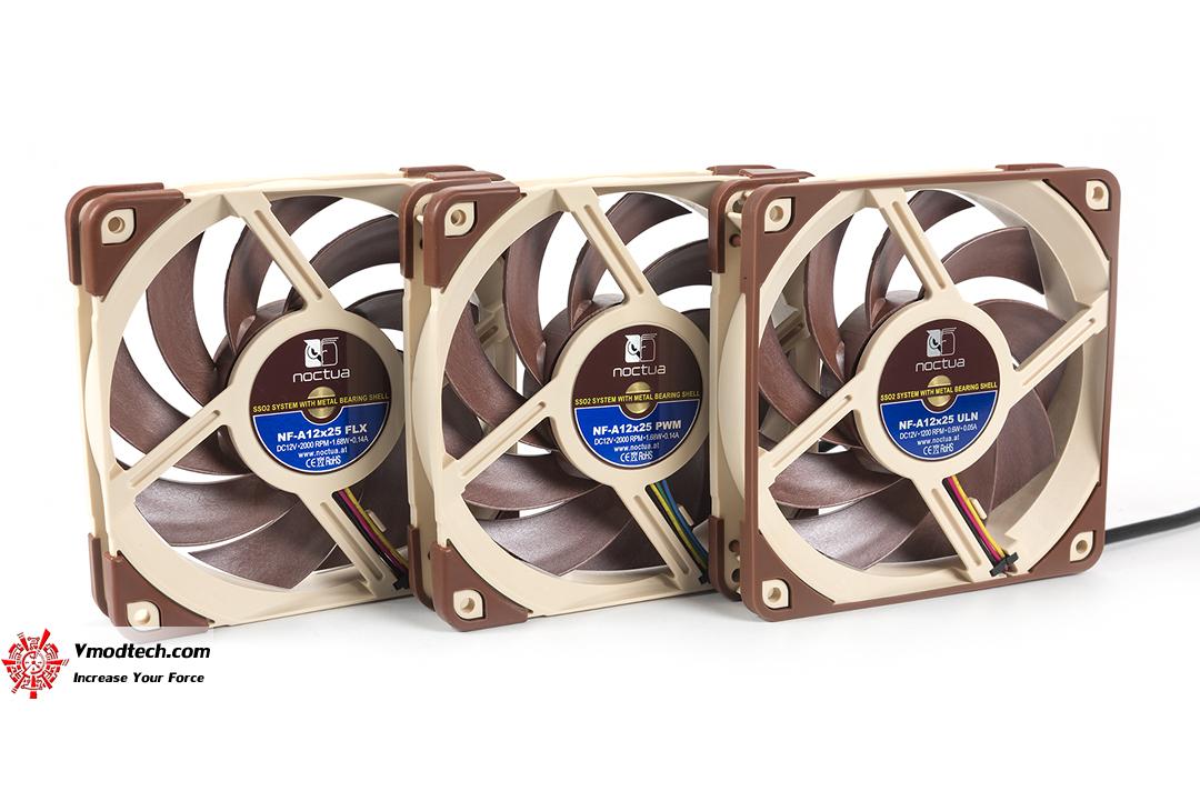 tpp 3689 noctua NF A12x25 PWM ULN FLX 120mm Premium Fan Review
