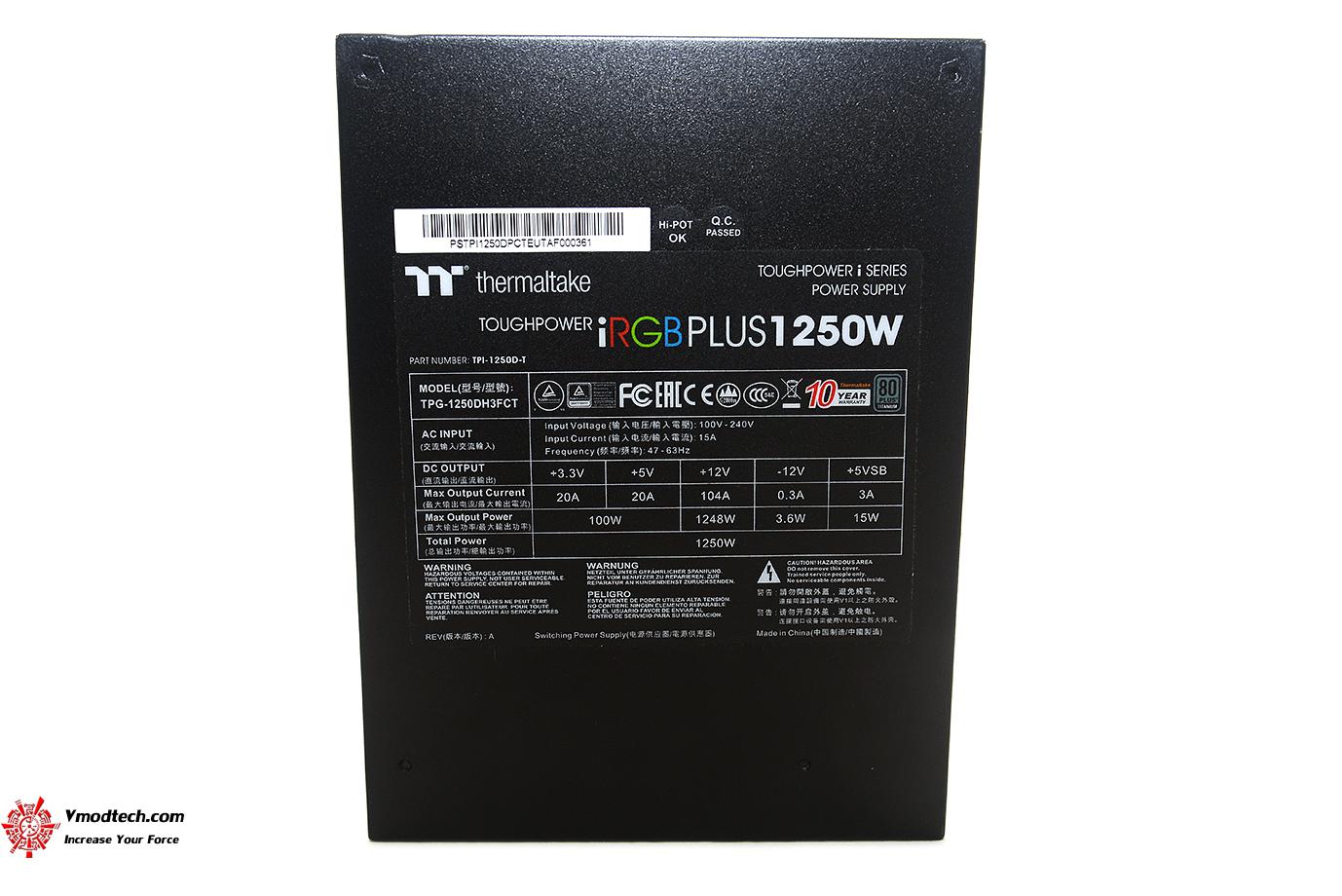 dsc 2553 Thermaltake Toughpower iRGB PLUS 1250W Titanium   TT Premium Edition Review