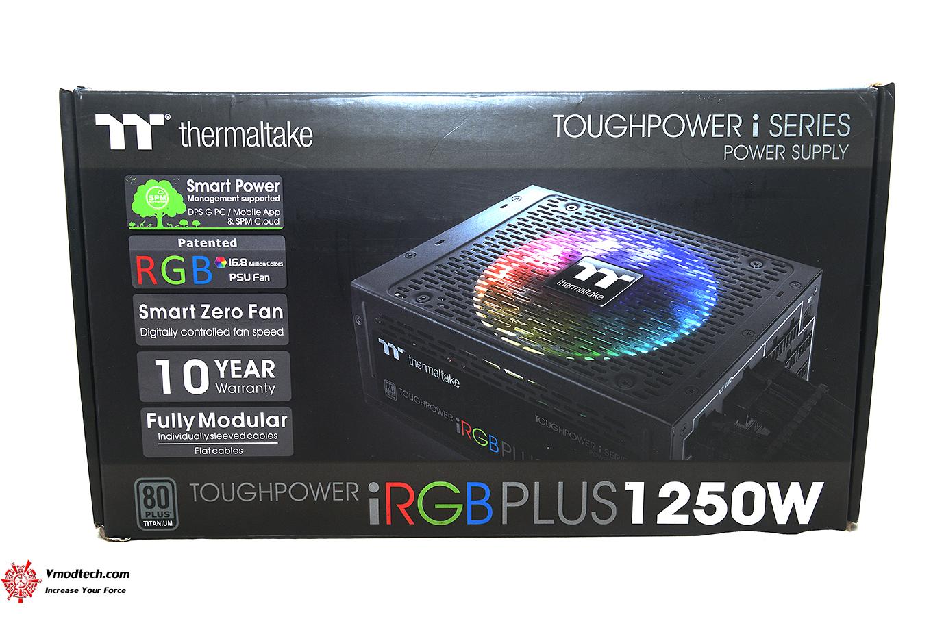 dsc 2571 Thermaltake Toughpower iRGB PLUS 1250W Titanium   TT Premium Edition Review