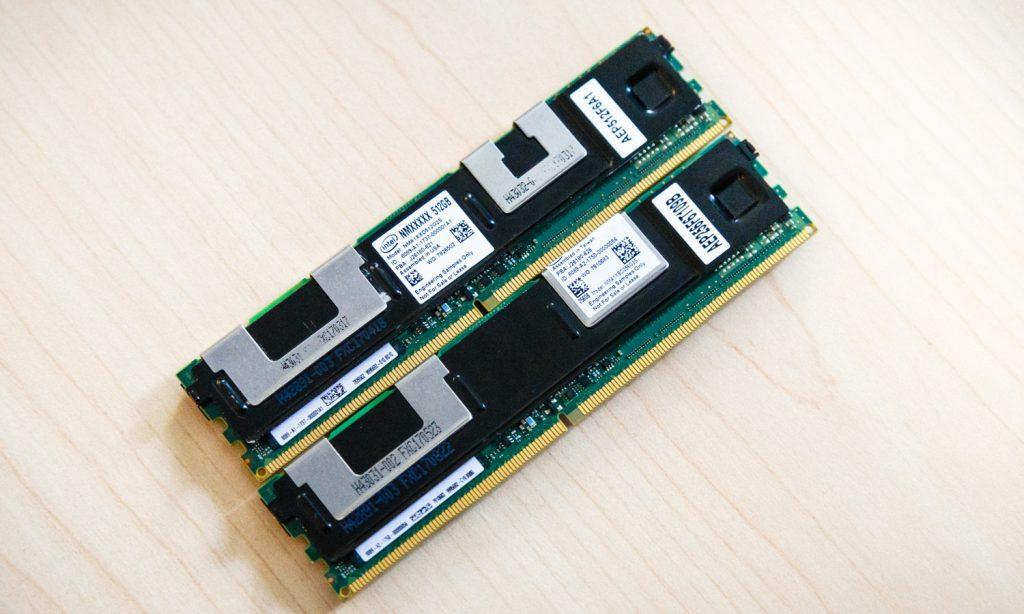 intel optane dc persistent memory 256gb and 512gb 1024x614 Intel เปิดตัว Optane memory ที่มาในแบบสล๊อต DDR4 DIMM slots ความจุ 512GB