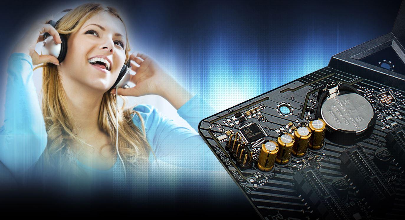 sound ASRock Fatal1ty B360M Performance ยกระดับคอมของคุณ สู่เกมมิ่งพีซีเต็มรูปแบบ