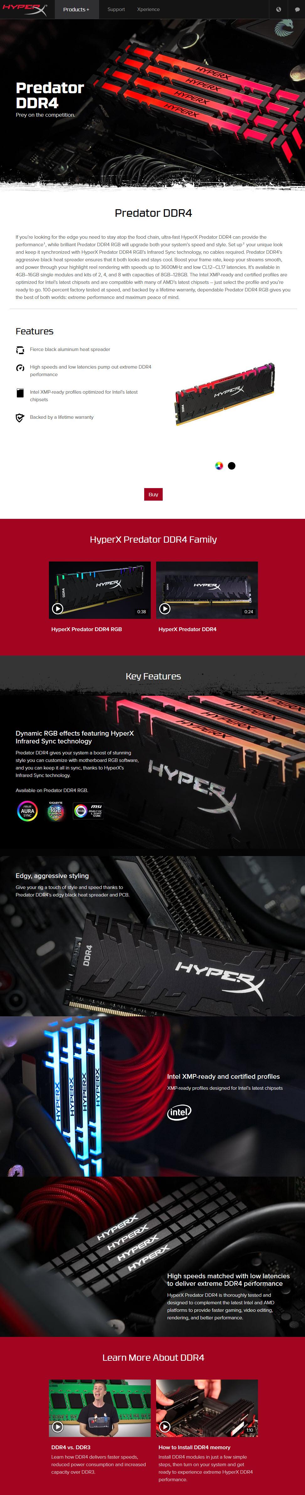 2018 06 22 22 50 56 KINGSTON HYPER X PREDATOR RGB DDR4 2933MHz 4x8GB Review