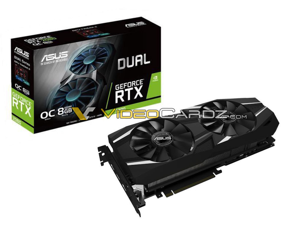 asus geforce rtx 2080dual 1000x792 ASUS มาแล้ว!! 3รุ่น ASUS GeForce RTX 2080 / RTX 2080 Ti STRIX รุ่น DUAL และรุ่น TURBO series