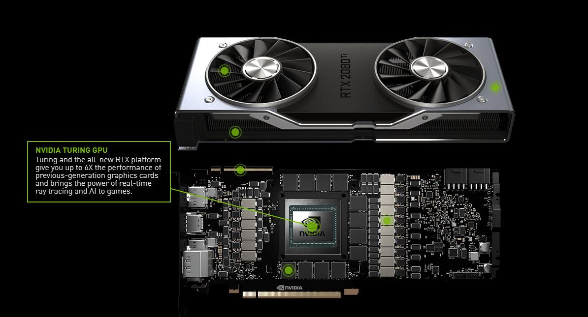 2102560262644005826 NVIDIA เปิดตัวการ์ดจอ GeForce RTX 2080 Ti, RTX 2080 และ RTX 2070 รุ่นใหม่ล่าสุดอย่างเป็นทางการ