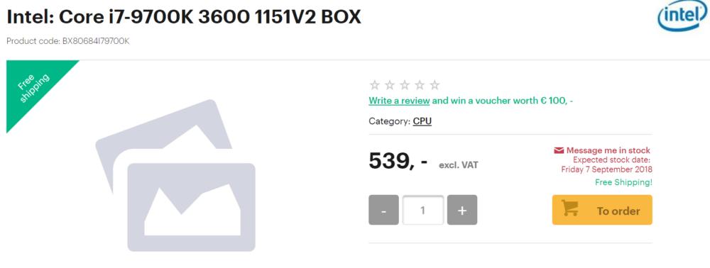 intel intel core i7 9700k 3600 1151v2 box bx80684i79700k 1000x378 Intel Core i9 9900K และ i7 9700K เปิดราคาให้สั่งจองกันแล้ว!!