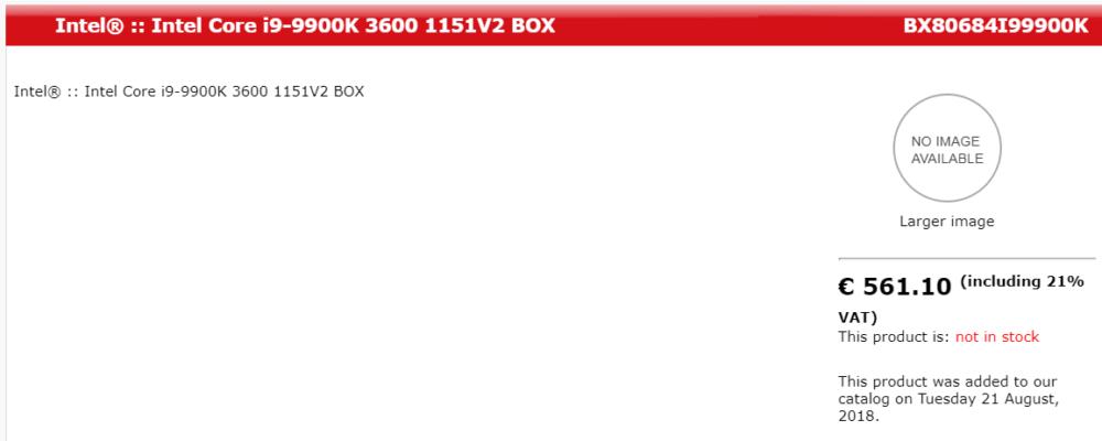 untitled Intel Core i9 9900K และ i7 9700K เปิดราคาให้สั่งจองกันแล้ว!!