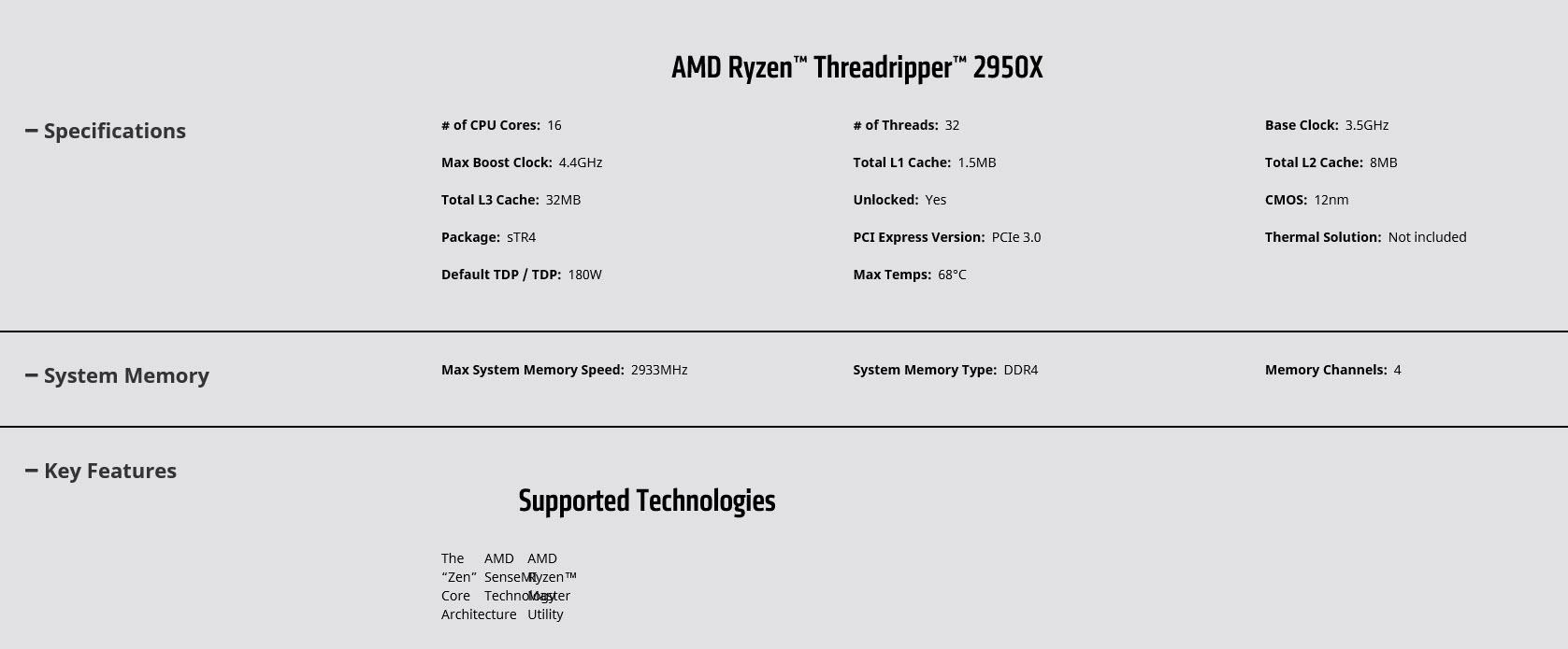 2018 09 01 14 21 43 AMD Ryzen Threadripper 2950X ประสิทธิภาพแรงกว่าคู่แข่งถึง 40เปอร์เซ็นพร้อมวางจำหน่ายแล้ว