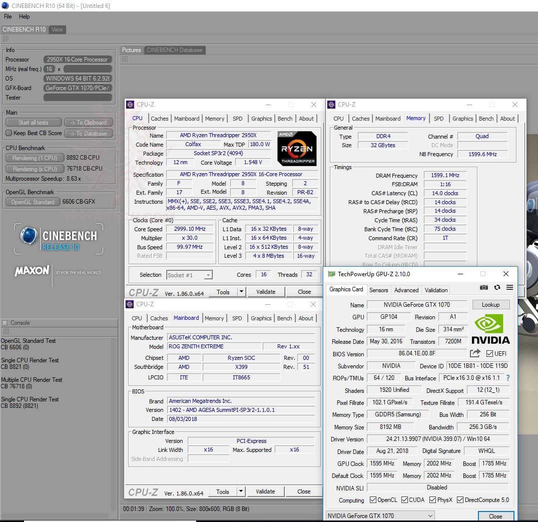 c10 AMD RYZEN THREADRIPPER 2950X PROCESSOR REVIEW