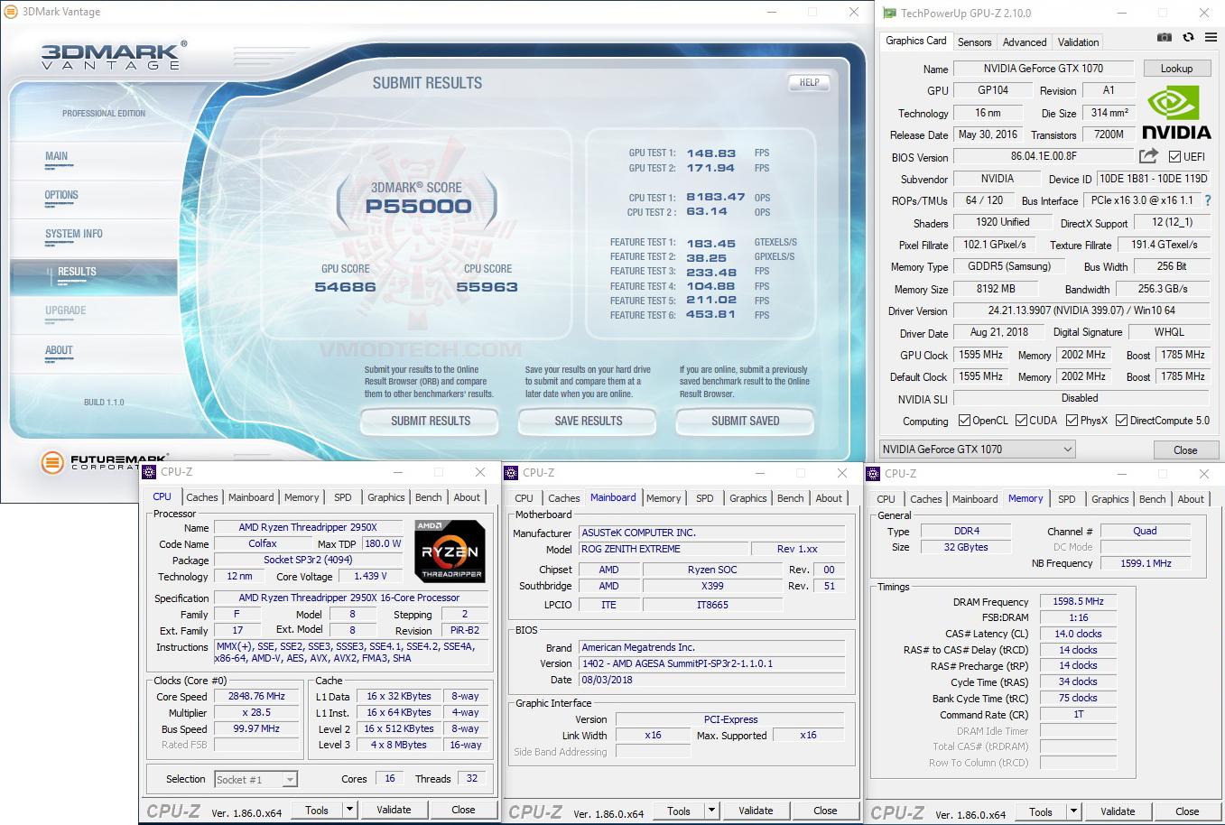 vt AMD RYZEN THREADRIPPER 2950X PROCESSOR REVIEW