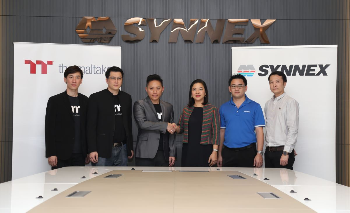 thermaltake announces partnership with synnex Thermaltake ประกาศความร่วมมือกับบริษัท SYNNEX อย่างเป็นทางการ