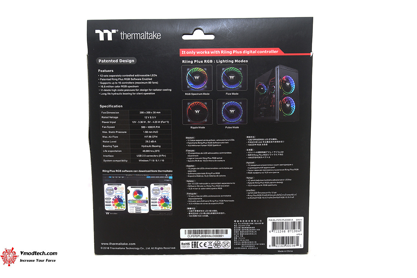 dsc 6562 Thermaltake Riing Plus 20 RGB Case Fan TT Premium Edition (Single Fan Pack w/o Controller) Review