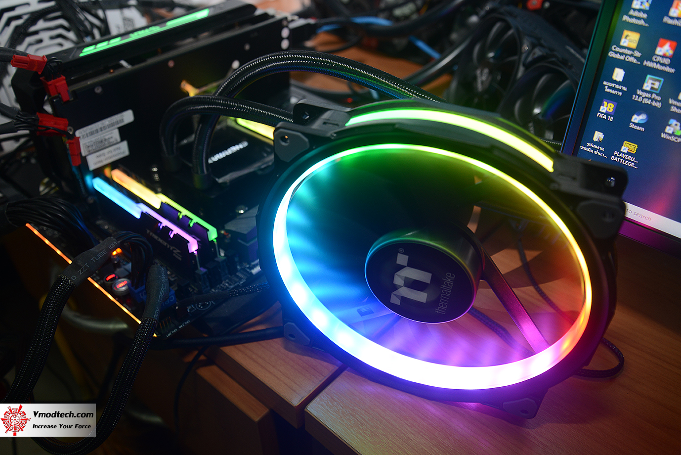 dsc 6636 Thermaltake Riing Plus 20 RGB Case Fan TT Premium Edition (Single Fan Pack w/o Controller) Review