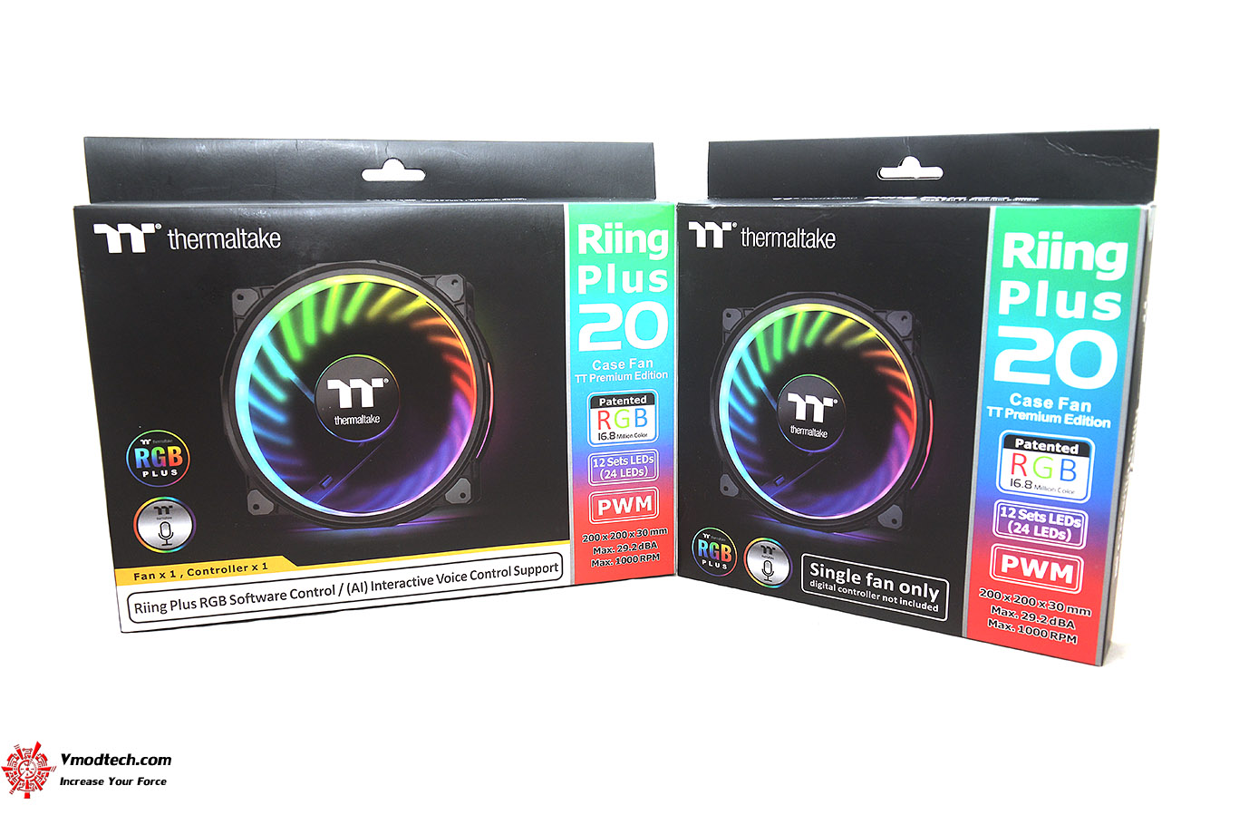 dsc 6709 Thermaltake Riing Plus 20 RGB Case Fan TT Premium Edition (Single Fan Pack w/o Controller) Review