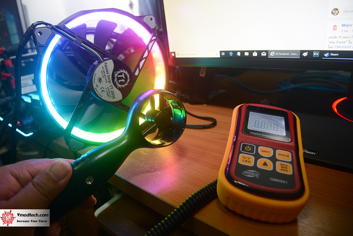dsc 6720 Thermaltake Riing Plus 20 RGB Case Fan TT Premium Edition (Single Fan Pack w/o Controller) Review