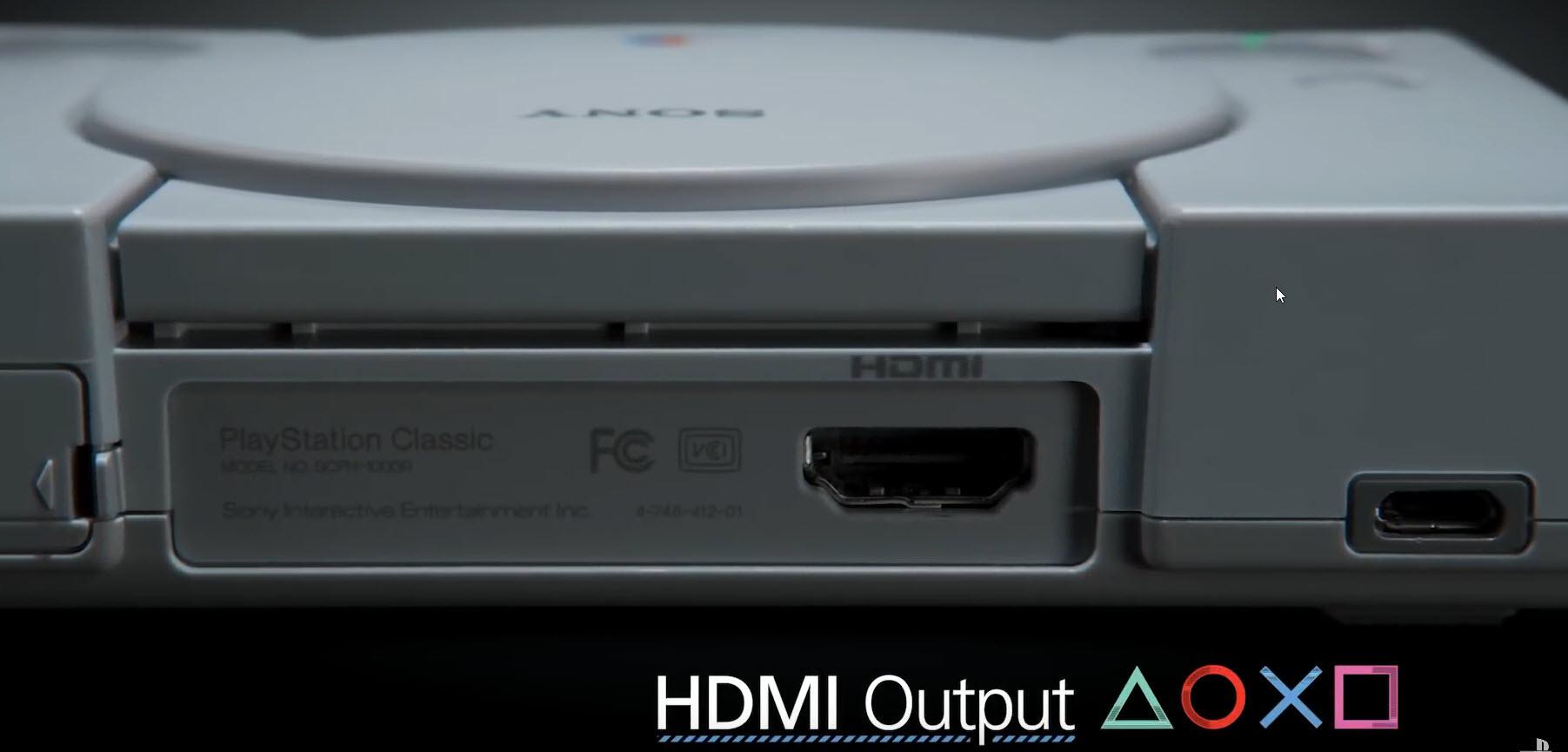 2018 09 19 14 10 25 เอาใจวัยเก๋า!!โซนี่เตรียมเปิดขาย PlayStation Classic แถมเกมส์ดัง 20เกมส์มีพอต HDMI ให้ใช้งานอีกด้วย