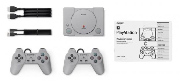 63226 02 playstation classic packs 20 pre loaded ps1 games costs 99 เอาใจวัยเก๋า!!โซนี่เตรียมเปิดขาย PlayStation Classic แถมเกมส์ดัง 20เกมส์มีพอต HDMI ให้ใช้งานอีกด้วย