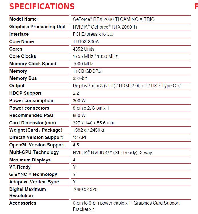 MSI GeForce RTX 2080 Ti GAMING X TRIO Review ,MSI GeForce RTX 2080