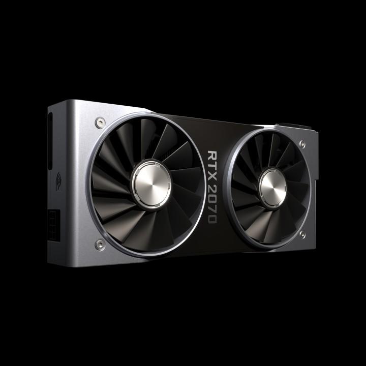 geforce rtx 2070 gallery c 720x720 ผลทดสอบ Nvidia GeForce RTX 2070 อย่างเป็นทางการประสิทธิภาพแรงแซง GTX 1080 กันเลยทีเดียว
