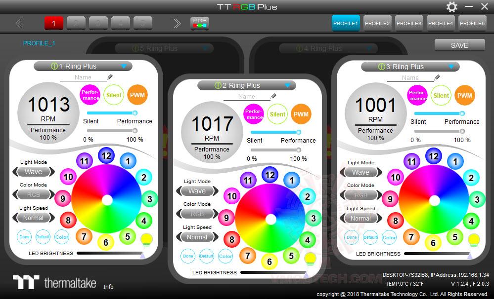 2018 10 25 11 15 44 Thermaltake Pure Plus 12 LED RGB Radiator Fan TT Premium Edition (3 Fan Pack) Review