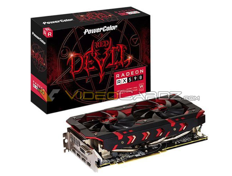 powercolor radeon rx 590 red devil หลุดภาพแรก PowerColor Radeon RX 590 Red Devil !!