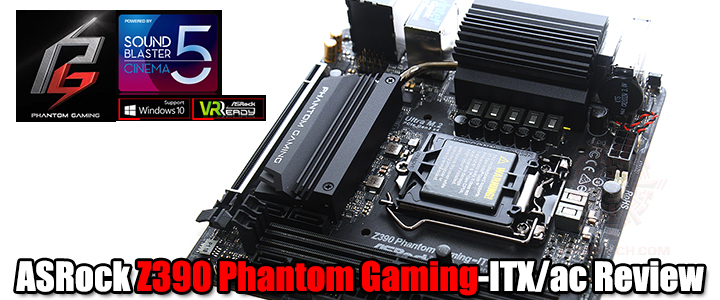asrock z390 phantom gaming itx ac review1 ASRock Z390 Phantom Gaming ITX/ac Review