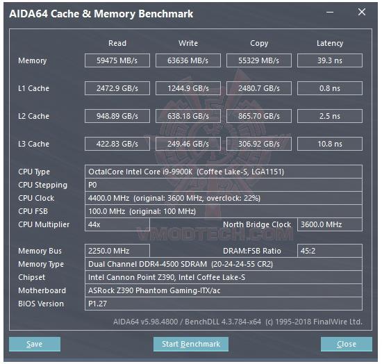 mem ASRock Z390 Phantom Gaming ITX/ac Review