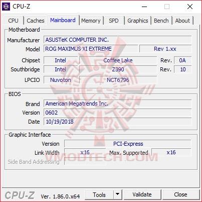 cpu3 ASUS ROG MAXIMUS XI EXTREME Review