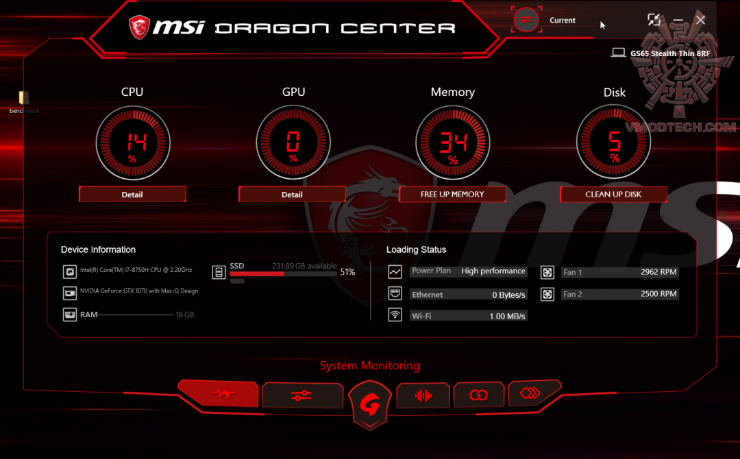 a MSI GS65 Stealth Thin 8RF Review