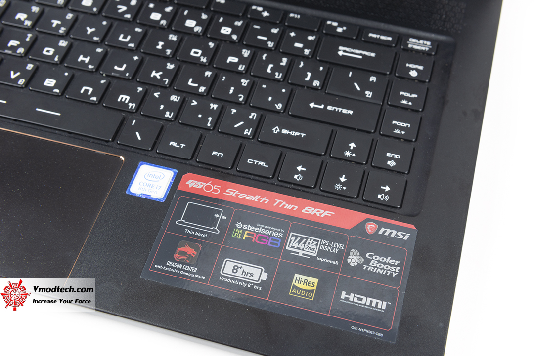 tpp 4562 MSI GS65 Stealth Thin 8RF Review