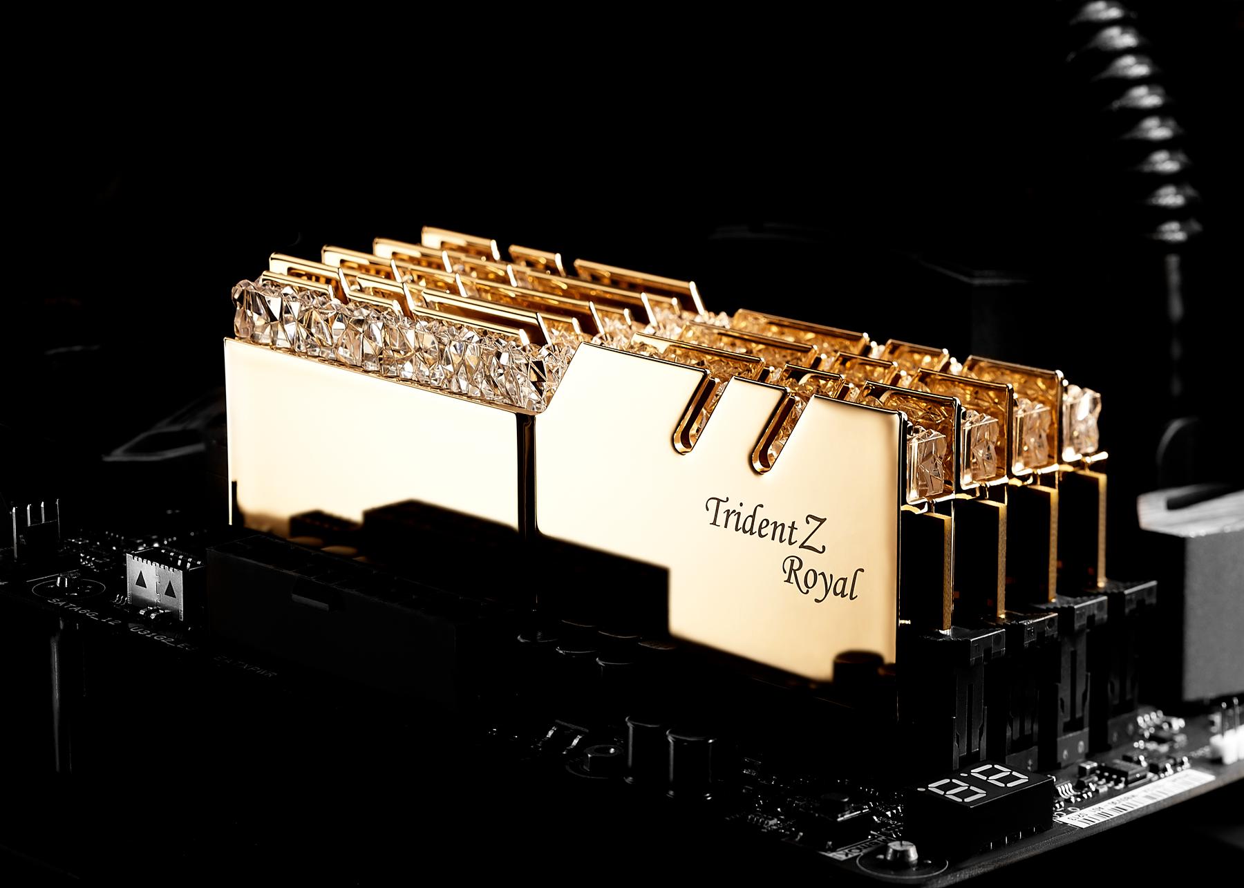 G.SKILL เปิดตัวแรม Trident Z Royal Series DDR4 RGB รุ่นใหม่ล่าสุด