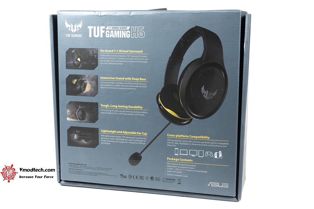 tpp 4630 ASUS TUF H5 7.1 Gaming Headset Review