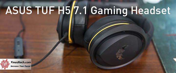 main ASUS TUF H5 7.1 Gaming Headset Review